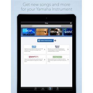 Musicsoft app interface