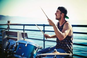cheap drum set