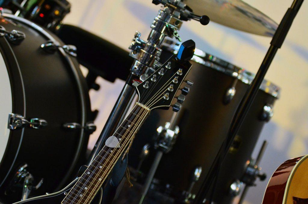 drums or guitar